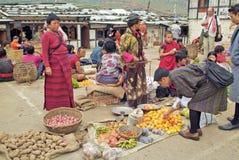 Butão, Wangdi Phodrang, Imagem de Stock