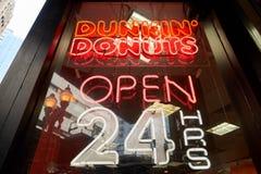 Butées toriques de Dunkin Image stock