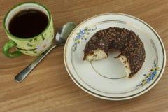 Butées toriques douces avec du café Festin doux avec du café Butées toriques en tant que vite festins faits maison Régimes de nou image stock