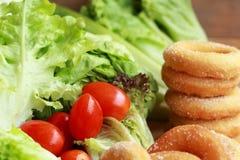 Butées toriques et sucre - légume frais Images stock