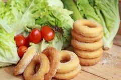 Butées toriques et sucre - salade de légume frais. Photographie stock libre de droits
