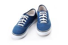 butów błękitny sporty Obraz Royalty Free