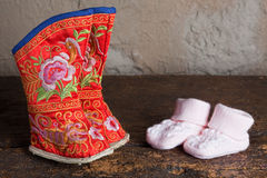 butów dorosli obszyci cieki Obrazy Stock