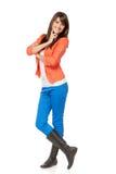 butów kobieta folujący długości potomstwa Obraz Royalty Free