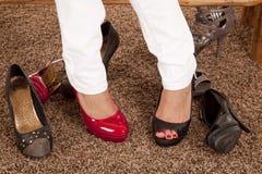 butów różni cieki zdjęcia stock