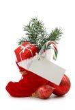 buta bożych narodzeń prezenta czerwień fotografia stock
