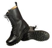 buta butów bojowy wojskowy Obraz Royalty Free