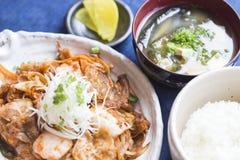 Buta Kimchi Food Stock Photography