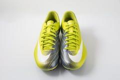 Buta Nike piłka nożna Obraz Stock