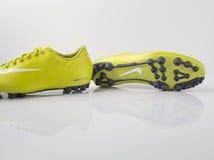 Buta Nike piłka nożna Zdjęcia Royalty Free