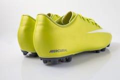 Buta Nike piłka nożna Obraz Royalty Free