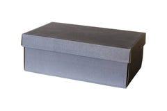Buta pudełko Odizolowywający na białym tle Obraz Royalty Free
