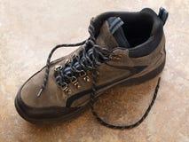 buta target390_0_ shoelace boczny widok Zdjęcie Royalty Free