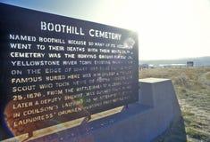 Buta wzgórza cmentarz, fakturowania, MT obrazy royalty free
