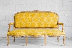 Butaca amarilla Imagen de archivo