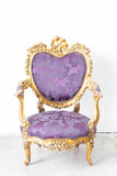 Butaca púrpura Fotografía de archivo
