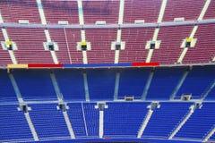 Butacas en el estadio imagenes de archivo