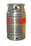 Butan Benzynowa butla Zdjęcie Stock