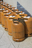 Butane cylinders Royalty Free Stock Image
