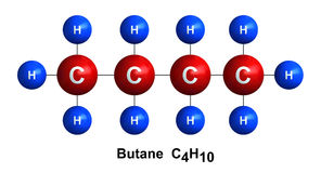 Butane Stock Photo