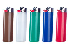Butane lighters Stock Image