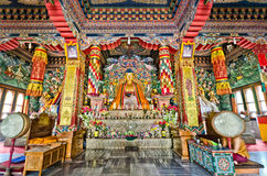 Butanese temple in Bodghaya Royalty Free Stock Image