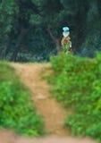 Butanese  Woman Stock Image