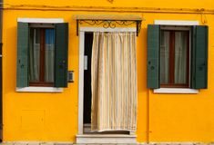 Butano wyspa, Wenecja, Włochy Zdjęcie Stock