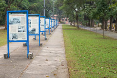 Butantan学院是immunobiological produc的一个主要生产商 免版税库存照片