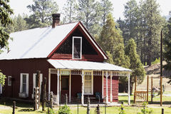 Butch Cassidy and Sundance Kid House nat seen from Durango and Silverton Narrow Gauge Railroad, Colorado, USA Stock Photography