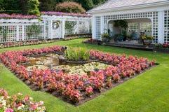 butchart γλυπτό κήπων πηγών Στοκ φωτογραφία με δικαίωμα ελεύθερης χρήσης