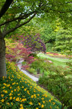 Butchart Gardens. The famous Butchart Gardens at Victoria, B.C., Canada royalty free stock image