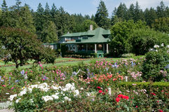 Butchart Gardens Stock Photo