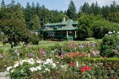 Butchart Gardens Stock Photo