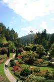 The butchart gardens Stock Image