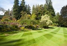 Butchart Gardens. At Victoria B.C, Canada stock photo