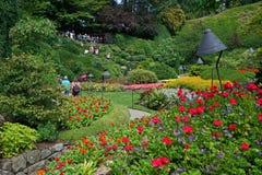 Butchart Gardens Royalty Free Stock Photography