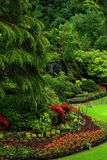 Beautiful gardens on Vancouver Island royalty free stock image