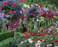 Butchart Gardens, Victoria, British Columbia Stock Photos