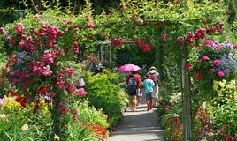 Butchart Gardens, Victoria, British Columbia Royalty Free Stock Image
