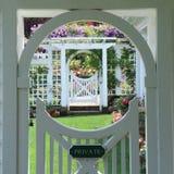 Butchart trädgårdstaket Royaltyfri Bild