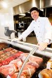 butcher счастливый Стоковые Фотографии RF