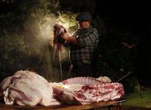 Butcher032 Στοκ Εικόνες