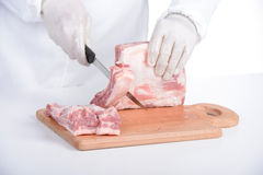 Butcher Stock Image