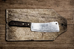 Butcher Knife. Stock Images