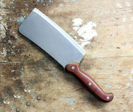 Butcher knife or cleaver  Stock Photo