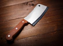 Butcher knife Royalty Free Stock Photo