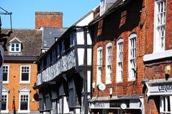Butcher Row buildings, Shrewsbury. Stock Photos