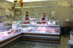 Butcher's shop Stock Image