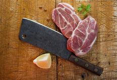Butcher's still life Royalty Free Stock Images